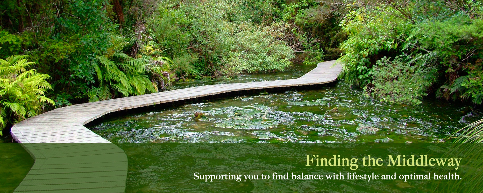 Finding The Middleway ... Supporting You To Find Your Balance Place With Lifestyle And Optimal Health